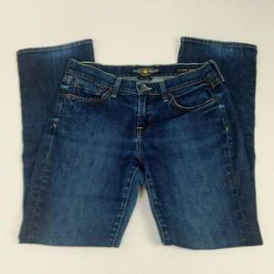 Lucky Brand Jeans Sz 6 Classic Rider Straight Leg